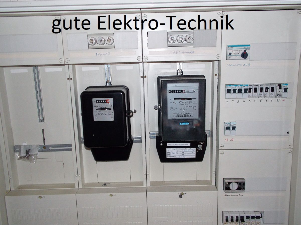 Elektro-Technik = gut